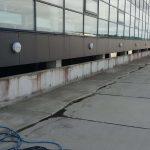 facade rens, beskidt bygning