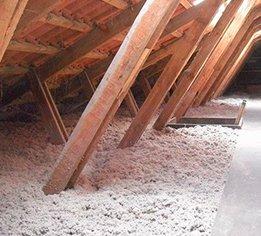 Professionel tagrenovering, isolering-loft